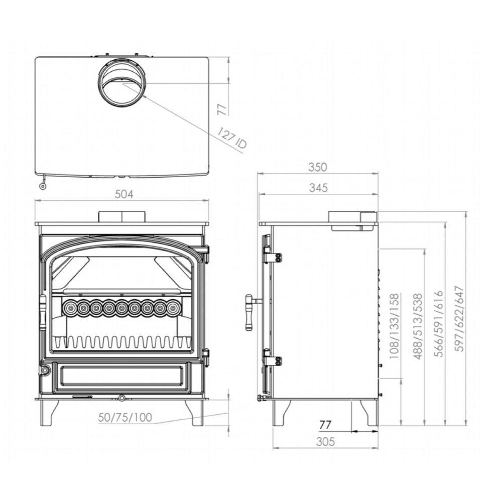 charlton-jenrick-purevision-heritage-breed-5kw-rechte-deur-excl-pootjes-line_image